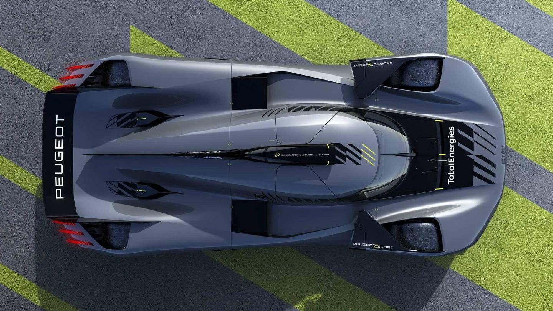 El 9X8 incorpora una innovadora aerodinámica con la que el característico alerón trasero de los coches de Le Mans pierde su función.
