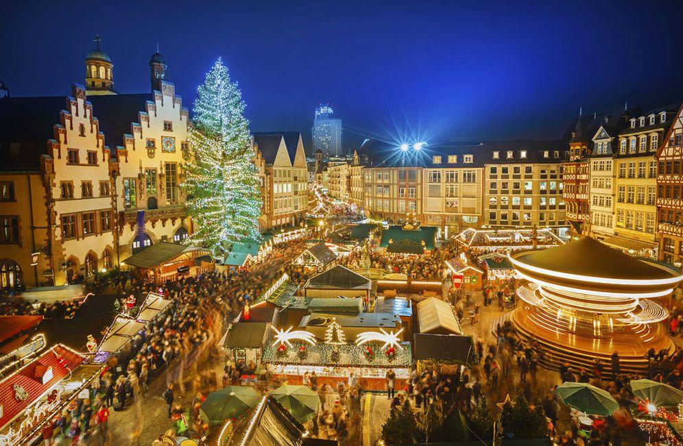 Foto: Un mercadillo de Navidad en Alemania