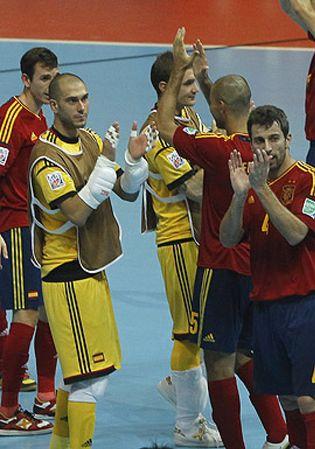Foto: España aplasta a Italia y se mete por quinta vez consecutiva a la final del Mundial