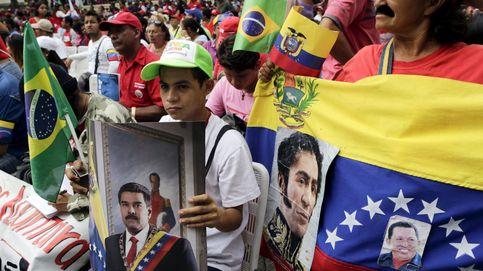 Los últimos defensores del chavismo