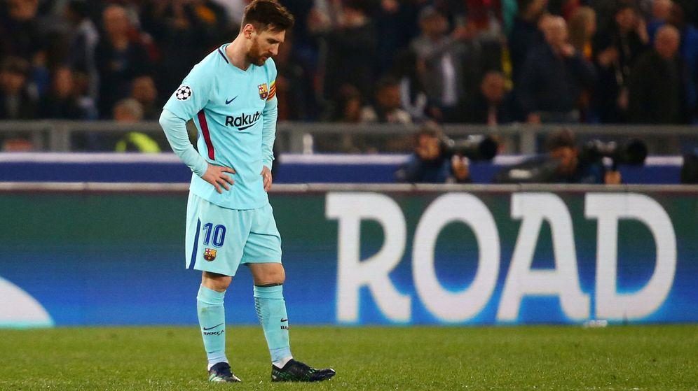 Foto: El FC Barcelona cayó en cuartos de final de la Champions por tercer año consecutivo. (Reuters)