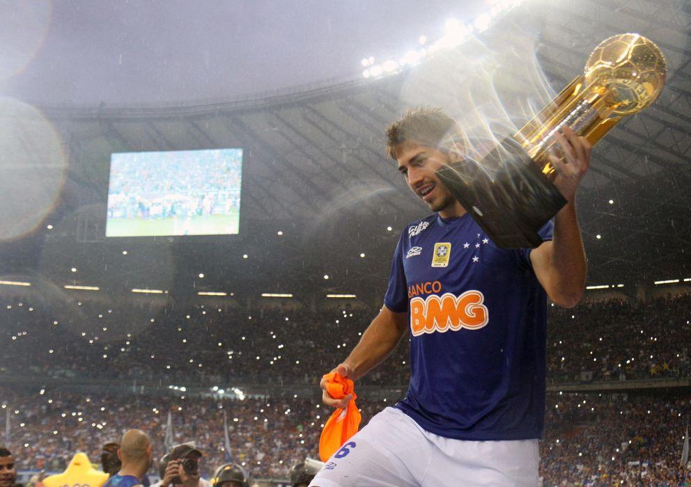 Foto: Lucas Silva se pondrá por primera vez la camiseta del Real Madrid el próximo lunes.