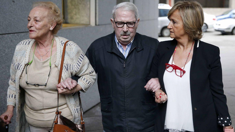 El ex secretario general del SOMA-UGT José Ángel Fernández Villa, a su llegada al juzgado en 2018. (EFE)