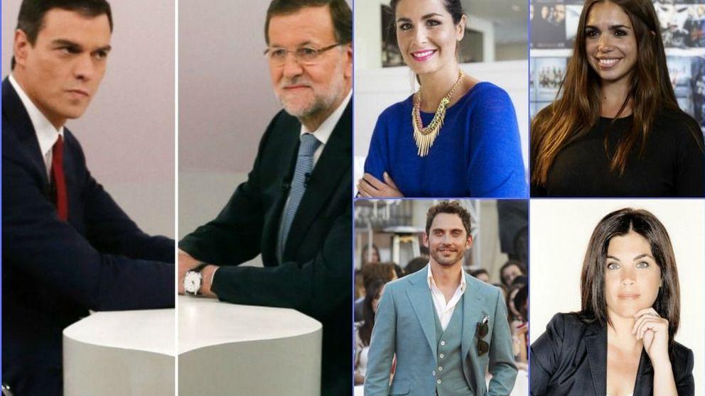 Cara a cara: El debate - Así vivieron los famosos el duelo Sánchez vs Rajoy