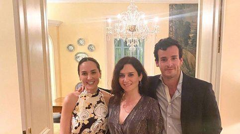 Isabel Díaz Ayuso, cena en casa de Isabel Preysler con Tamara de anfitriona