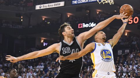 Los Spurs de Pau Gasol dan un repaso a los Warriors de Curry en su propia casa