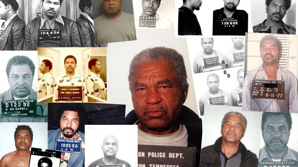 Foto: Samuel Little, el mayor asesino en serie de todos los tiempos, a lo largo de los años. (Reuters)