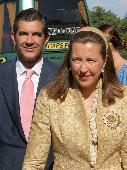 Pedro López Quesada y su mujer Cristina de Borbón dos Sicilias (I.C.)