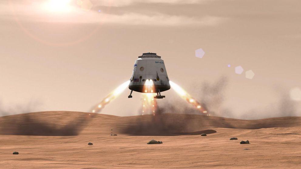 Elon Musk enviará una nave de SpaceX a Marte en 2018