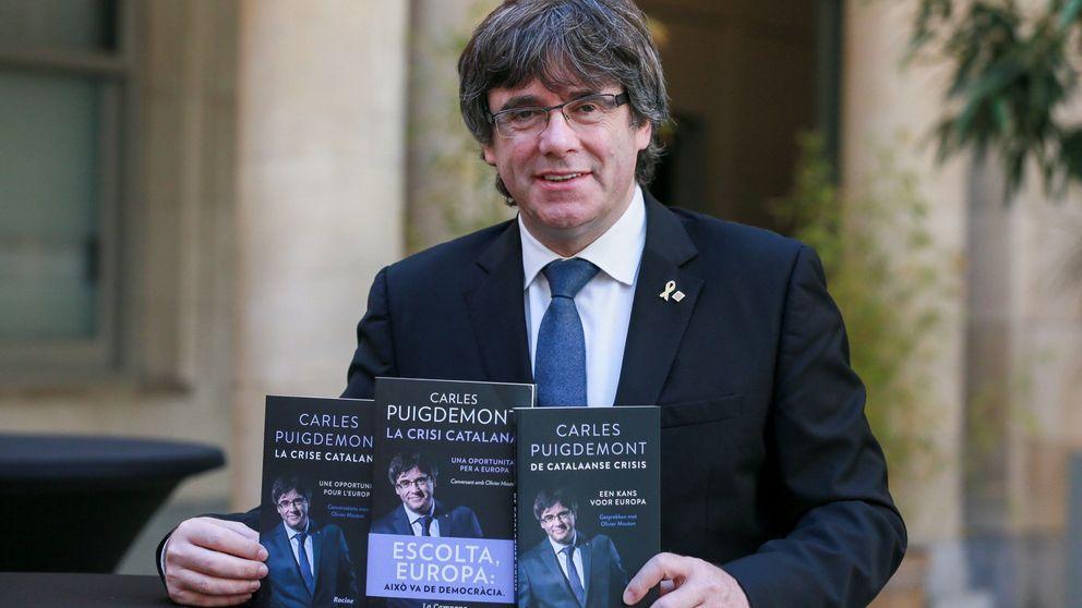 Veinte euros la entrada para escuchar a Puigdemont 'loco de rabia' en Holanda