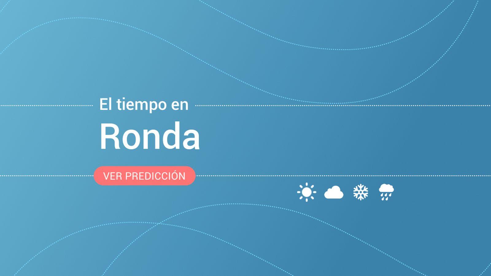 Foto: El tiempo en Ronda. (EC)