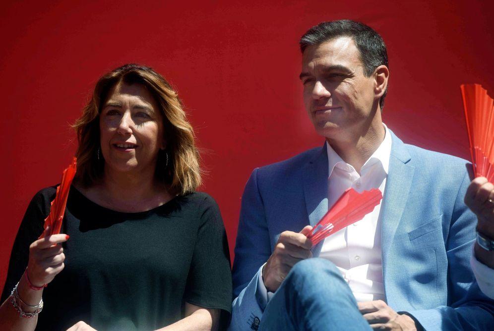 Foto: Susana Díaz y Pedro Sánchez, el pasado 22 de mayo en Córdoba. (EFE)