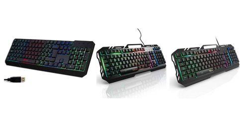 Los mejores teclados para 'gaming' para jugar con el ordenador