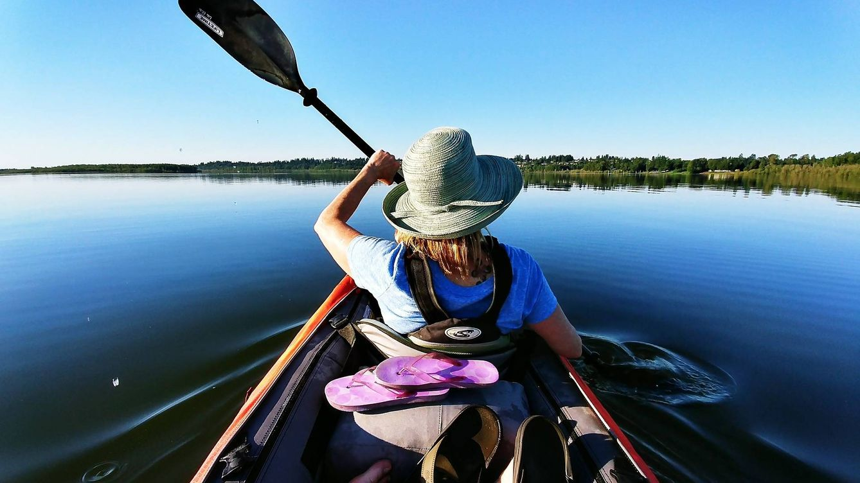 Kayaks hinchables para pescar y navegar por ríos, mares y océanos
