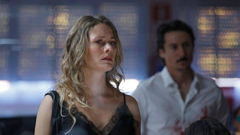 Lisi Linder es Almudena en 'La víctima número 8'. (Telemadrid)