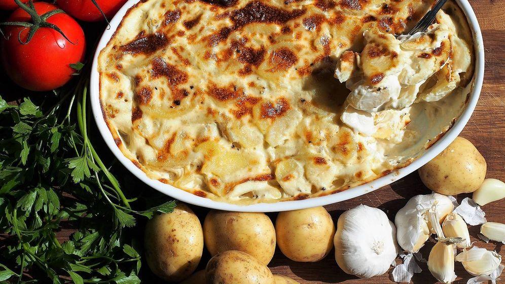 Foto: Gratin dauphinois, un plato típico de montaña.
