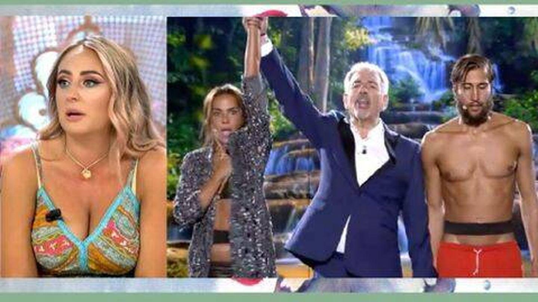 Rocío Flores, en 'El programa del verano'. (Telecinco)