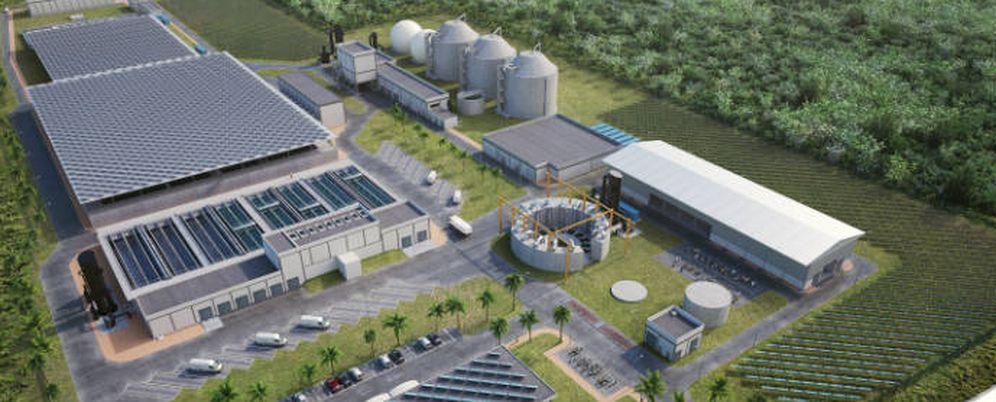 Foto: Accioona gestionará y construirá la nueva planta depuradora.