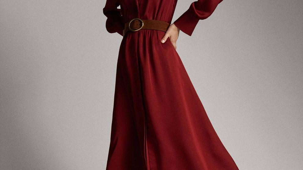 Recicla tu vestido de Nochebuena para el trabajo con estas botas de Massimo Dutti