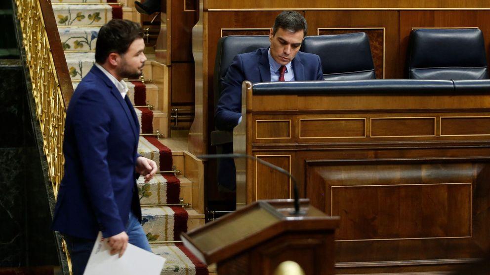 El pacto de Sánchez y ERC para la prórroga no incluye mesa de diálogo ni gestión del IMV