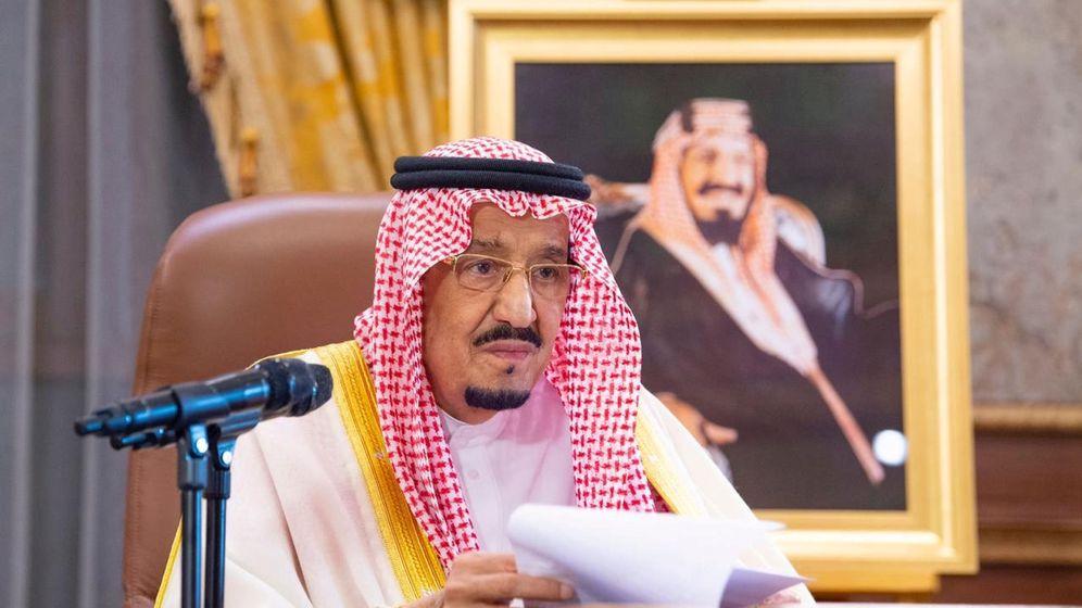 Foto: El rey de Arabia Saudí. (EFE)