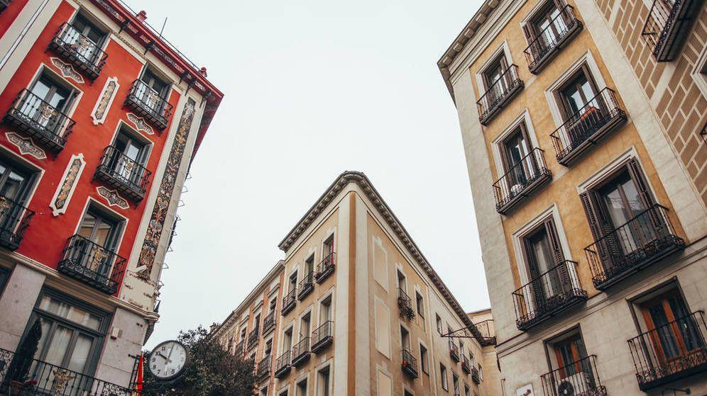 Foto: Los precios del alquiler se encuentran en máximos en muchos barrios de Madrid. (EFE)