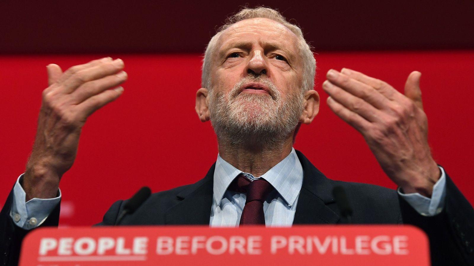 Foto: El líder de los laboristas británicos, Jeremy Corbyn. (EFE)