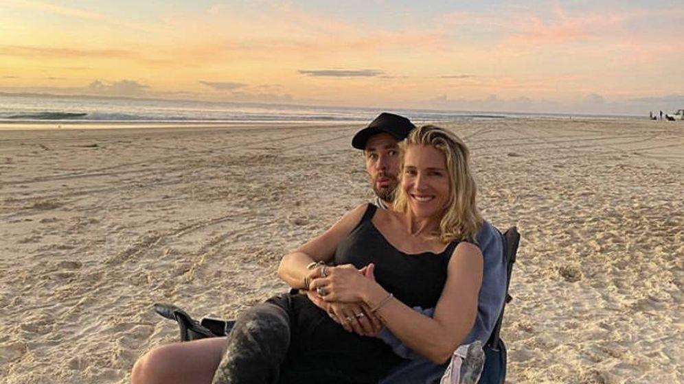 Foto:  Elsa Pataky y Chris Hemsworth: vacaciones, playa y caravana en Australia. (Instagram @chrishemsworth)