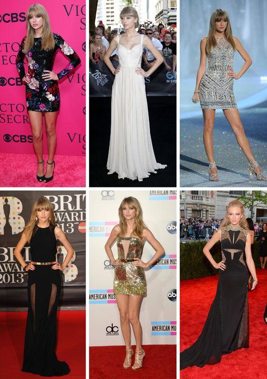 Taylor en clave sexy. (Getty)