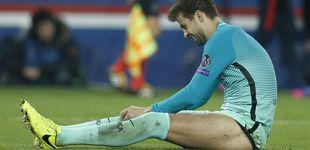 Post de El Barça deja solo a Piqué en su cruzada arbitral, pero tampoco le importa