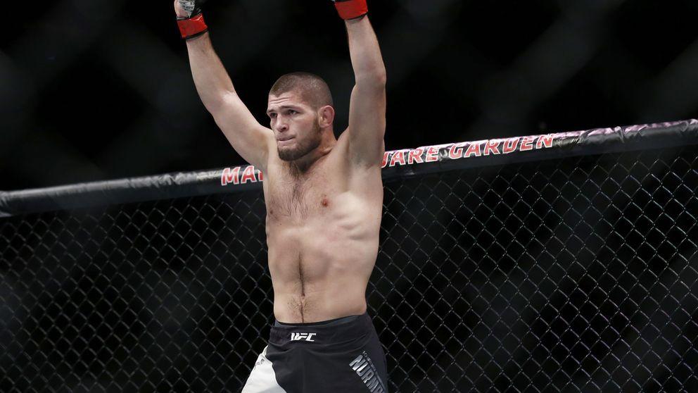 Provocaciones, agresiones... así vuelve el indómito Khabib a la UFC tras su sanción