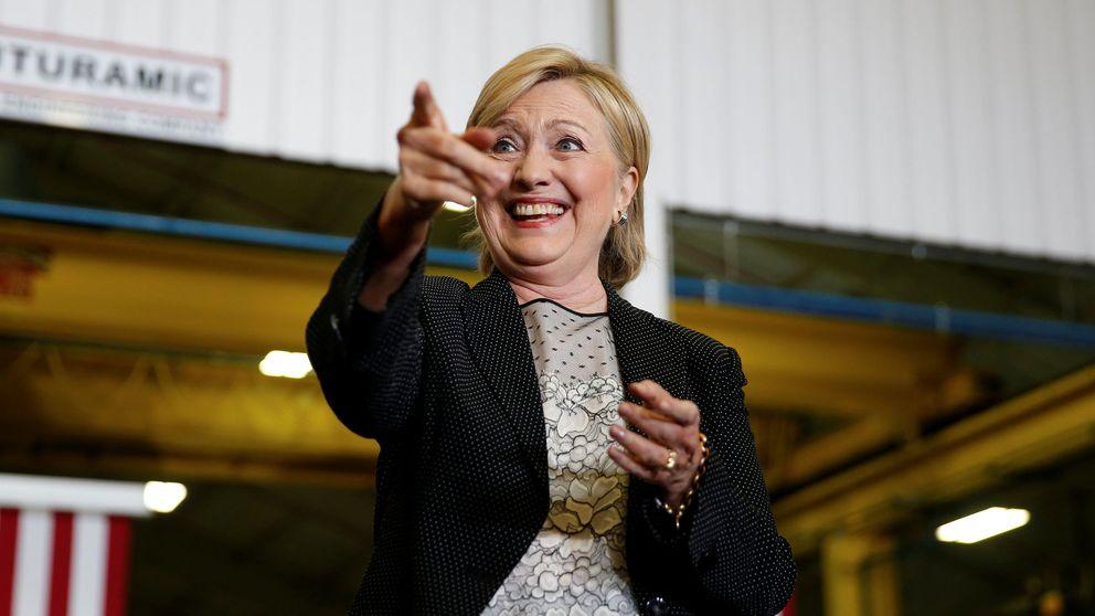 El S&P 500 prefiere a Hillary: el índice va mejor con los demócratas