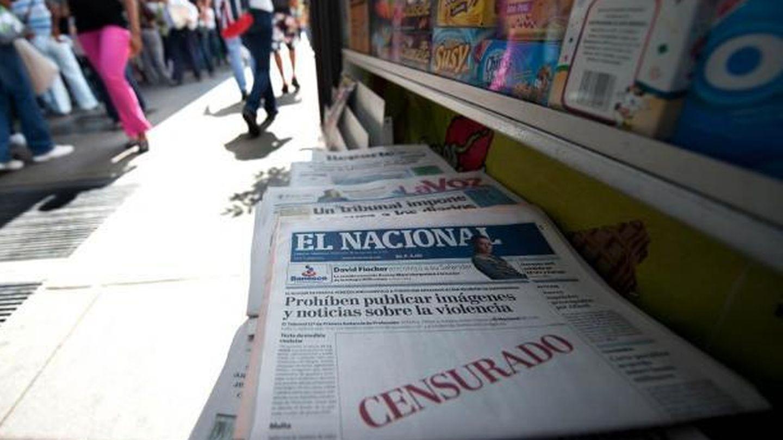 Ejemplares de 'El Nacional', en Venezuela (EC).