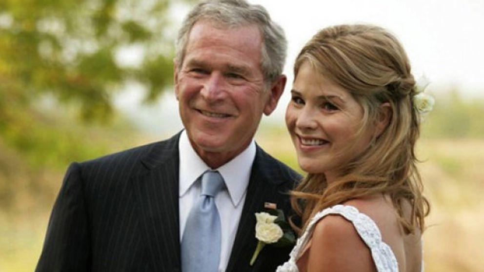 George Bush, abuelo por primera vez