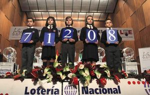 'El Niño' pone punto final a la Navidad repartiendo 560 millones de euros en premios