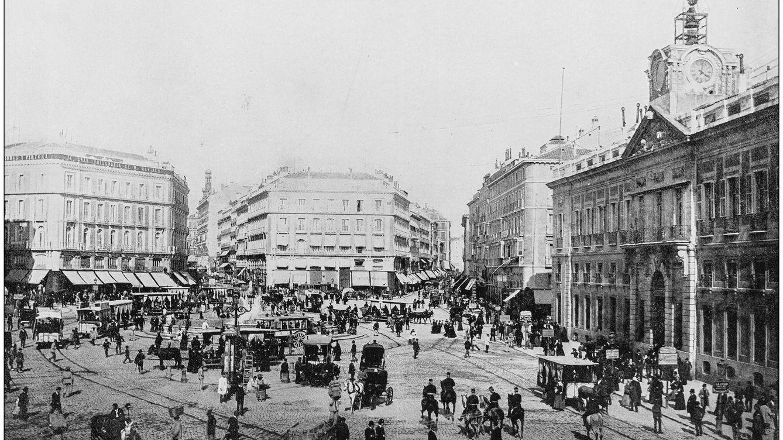 Gran Vía, Sol o Palacio Real hace cien años: viaja virtualmente por la historia de Madrid