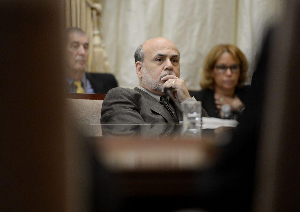 Foto: El aún presidente de la Fed, Ben Bernanke
