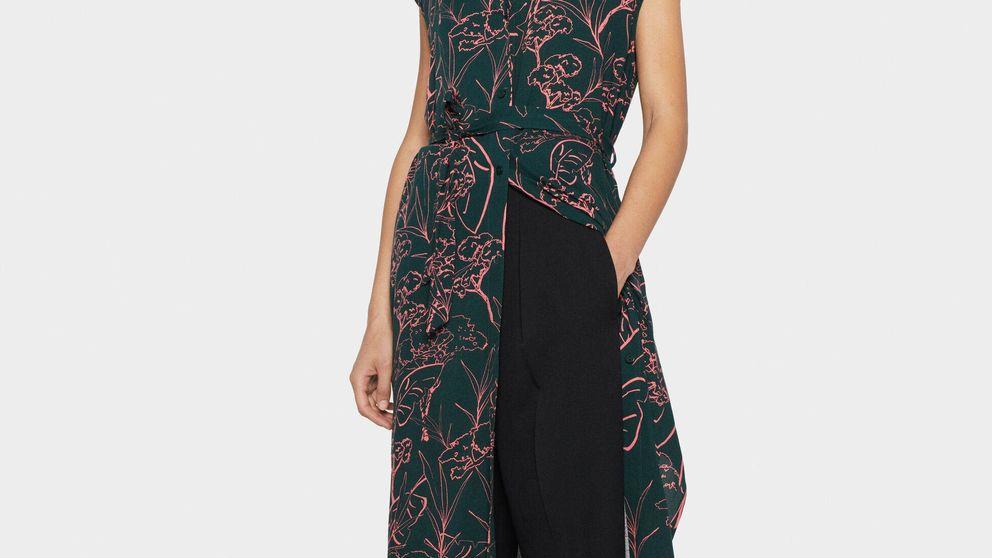 Parfois tiene un vestido midi que quedará genial con tus pantalones negros