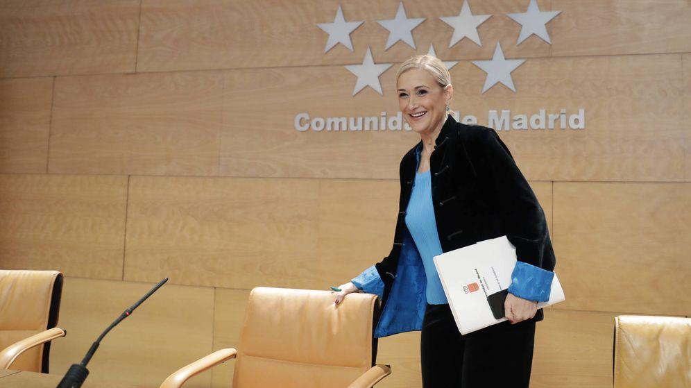 Foto: La presidenta regional, Cristina Cifuentes.