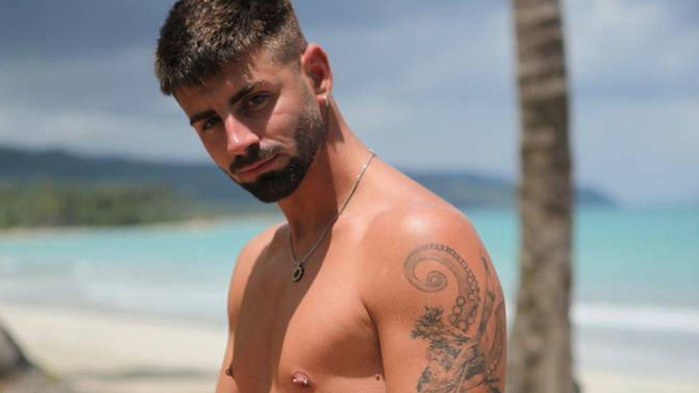 Isaac, en 'La isla de las tentaciones'. (Telecinco)