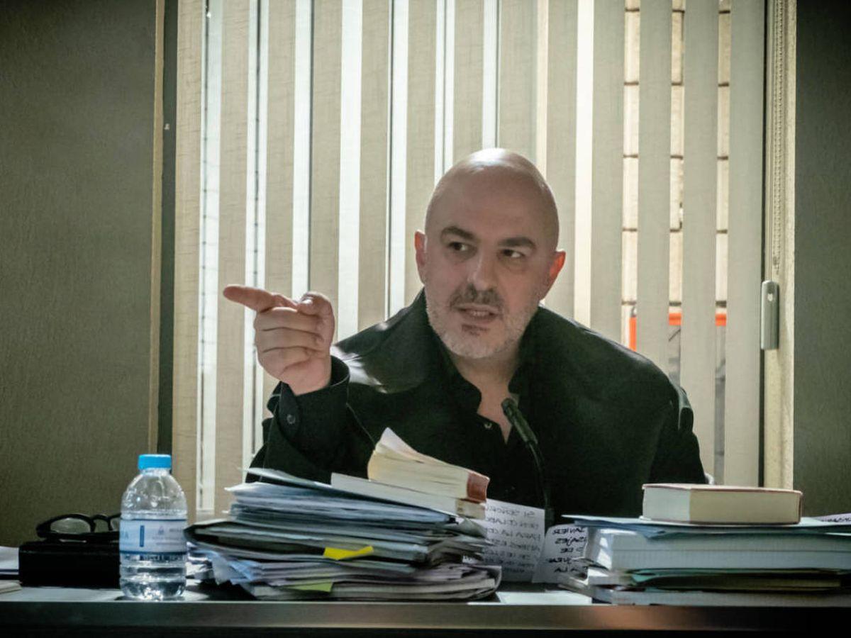 Foto:  Roberto Álamo, en 'Caronte'. (Mediaset)