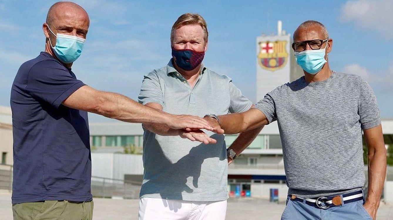 La mano que mece el Barça de Koeman, la misma del 1-4 del Ajax al Real Madrid
