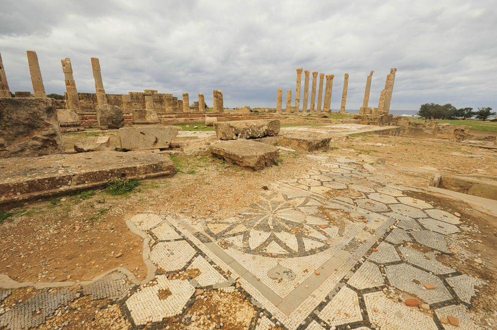 Foto: Imagen de la antigua ciudad de Ptolemais, en Libia, a unos 100 kilómetros de Bengasi (Reuters).