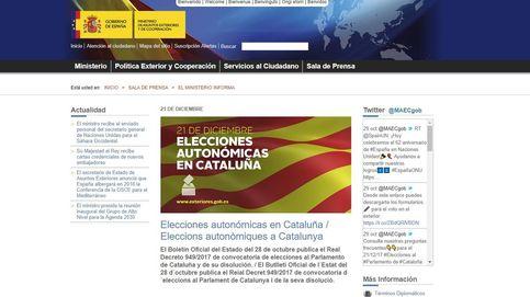 Los catalanes en el extranjero ya pueden pedir el voto por correo para el 21-D
