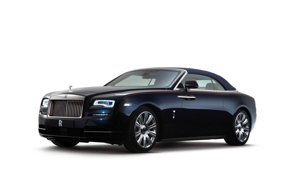 Rolls Royce Dawn, rien va plus