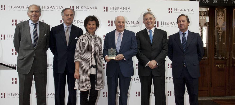 Foto: Hispania da a los inversores un colchón de seis años para decidir su futuro en el parqué