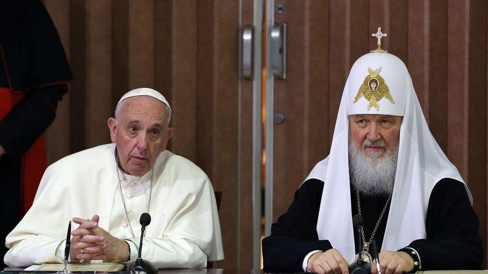 El papa y Kiril acuerdan luchar contra la persecución de cristianos en Oriente