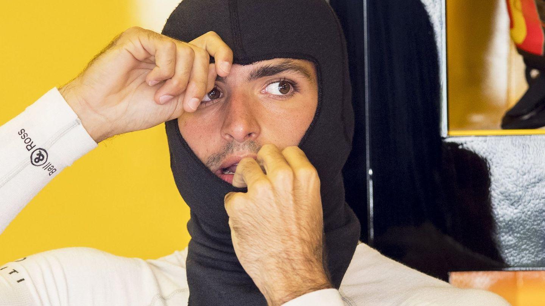 Carlos Sainz durante la temporada pasada. (EFE)
