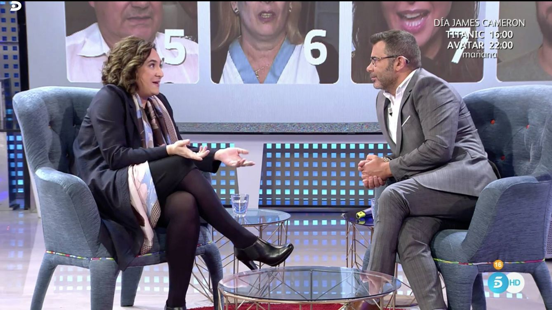 "Ada Colau se abre a Jorge Javier Vázquez en 'Sábado Deluxe': ""Tuve una novia italiana"""