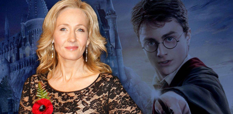 Foto: J. K. Rowling y Harry Potter en un fotomontaje de Vanitatis